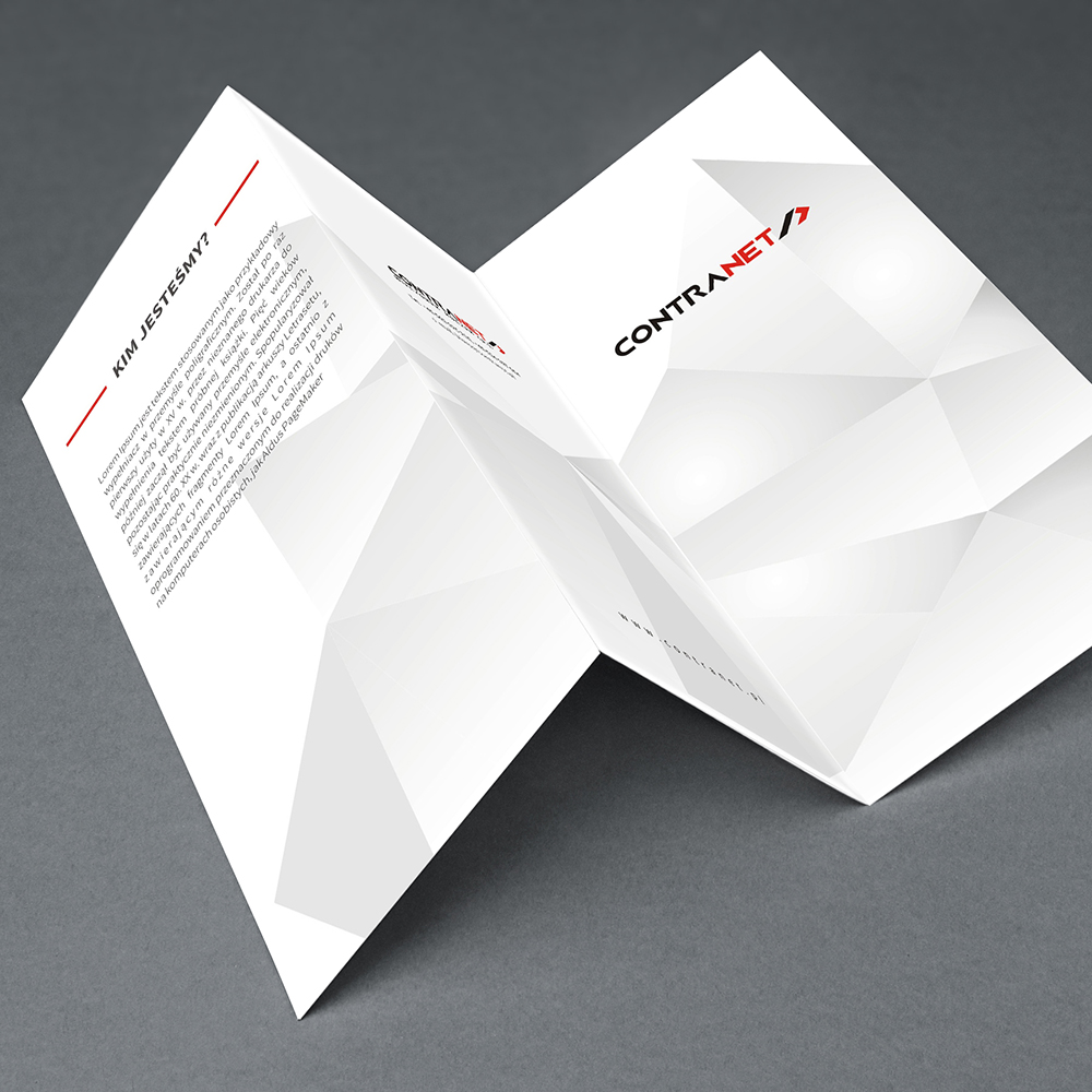 branding projekt ulotki